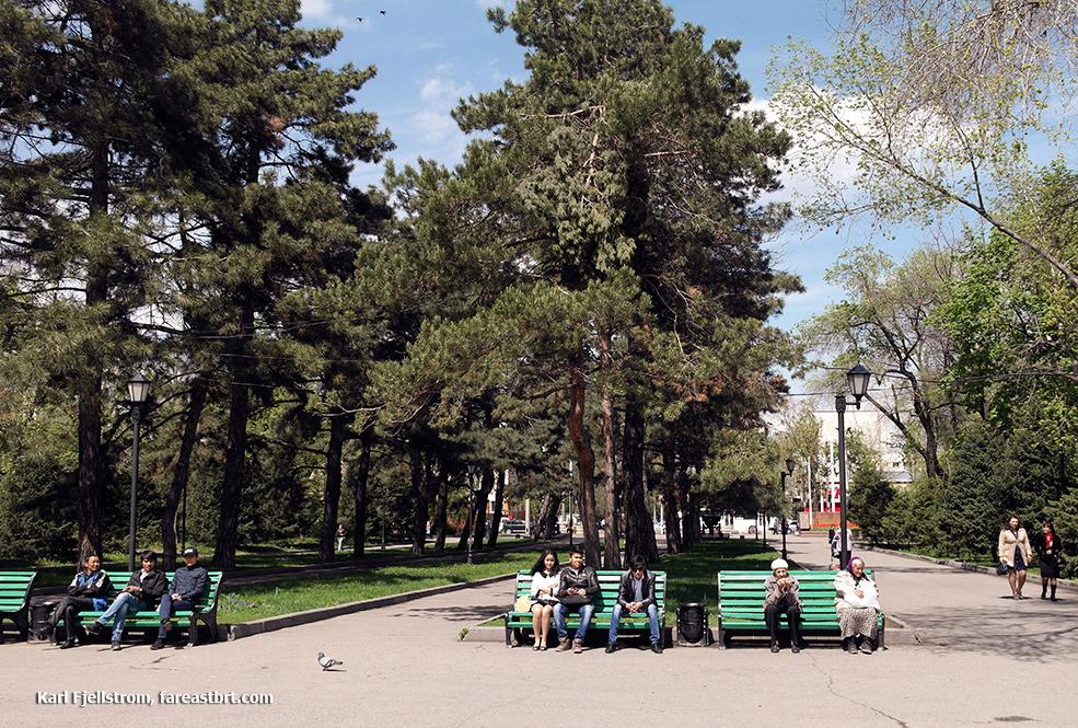 Almaty urban transport