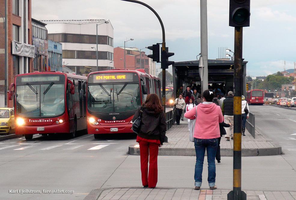 波哥大城市交通
