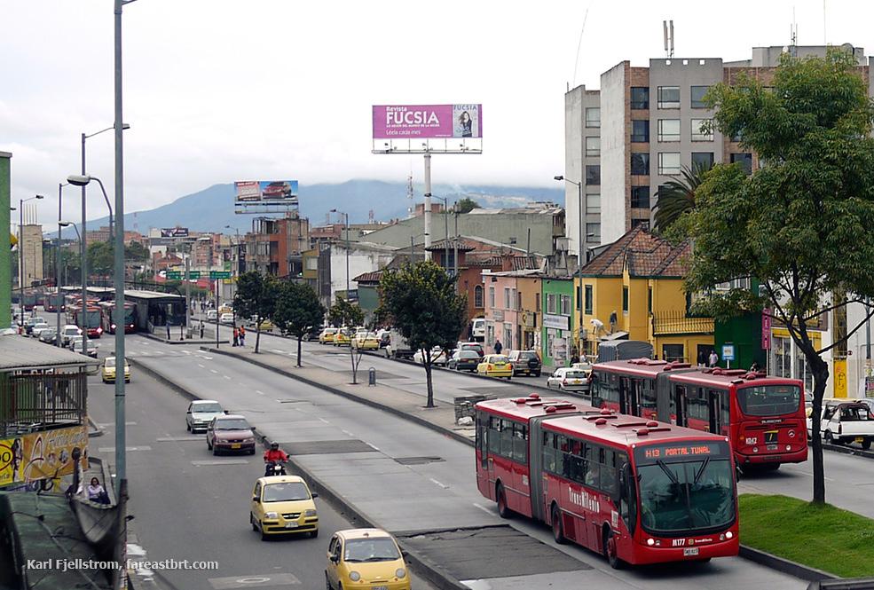 Bogota urban transport