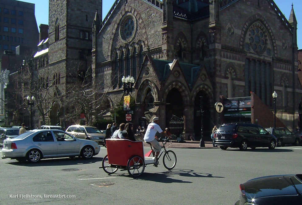 Boston urban transport
