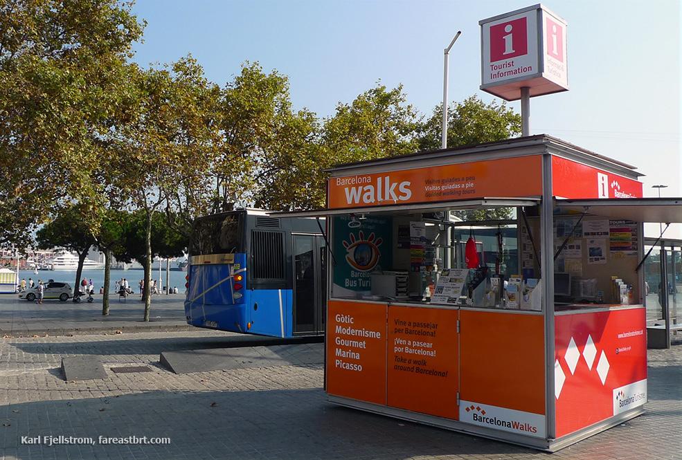 Barcelona urban transport