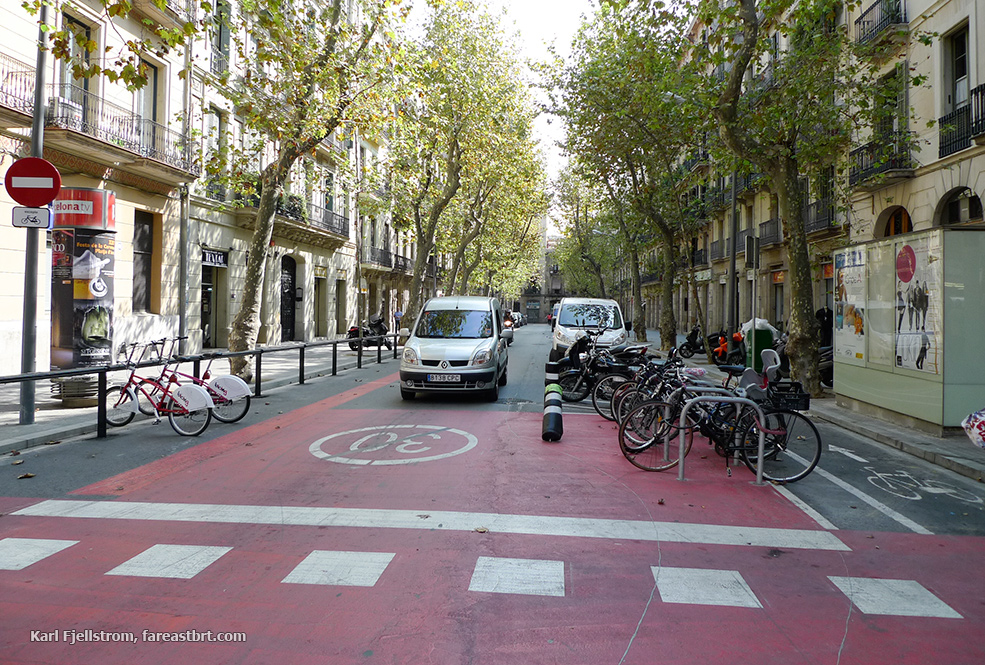 Barcelona urban transport
