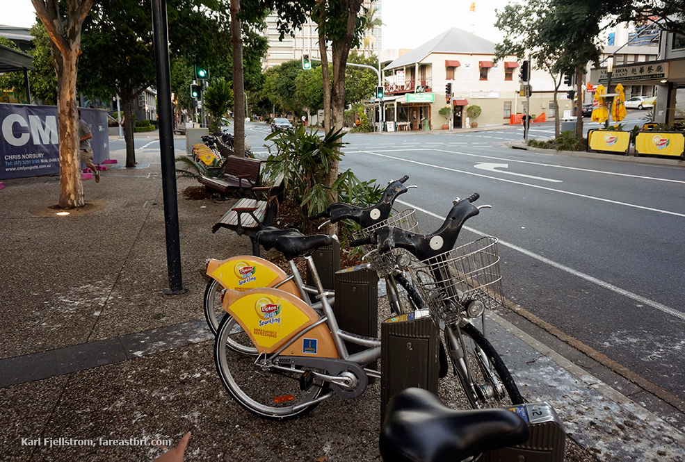 Brisbane urban transport