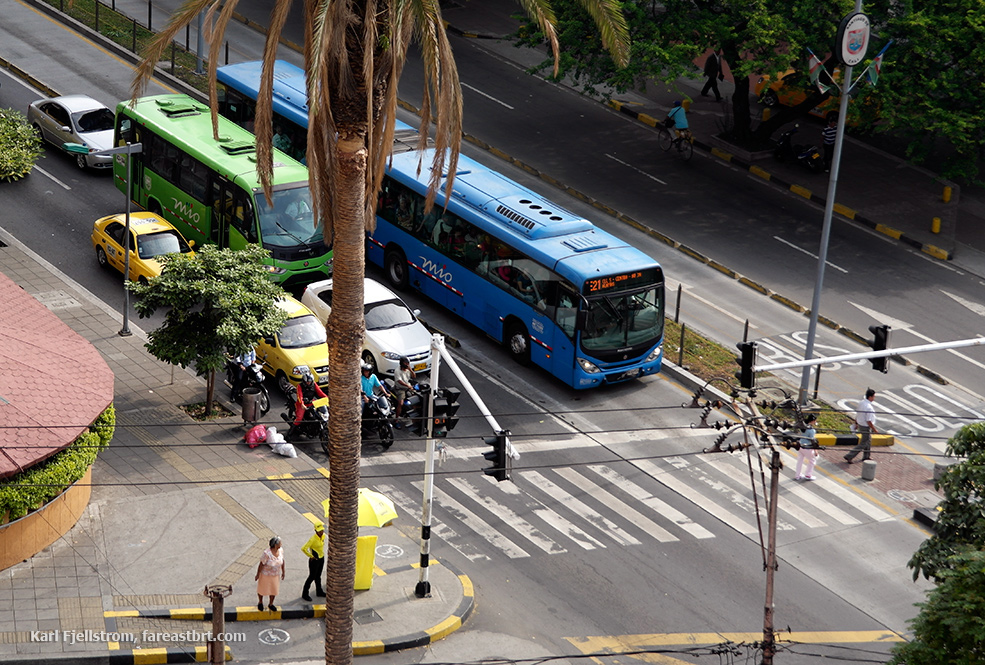 Cali urban transport