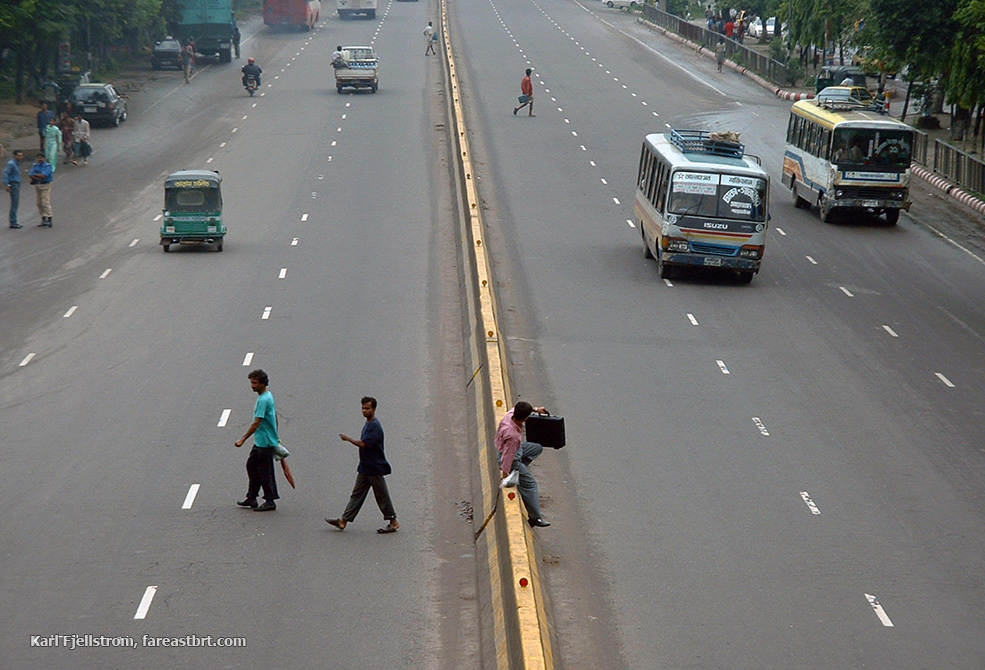 Dhaka urban transport