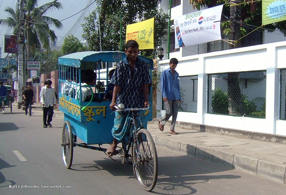Dhaka urban transport