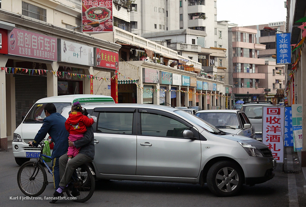 Dongguan urban transport