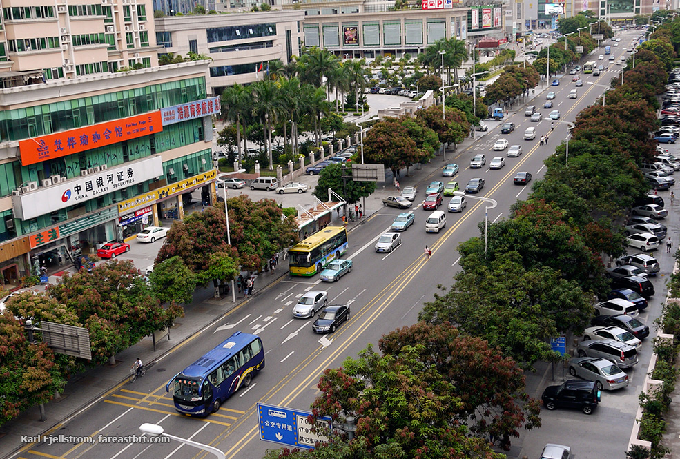 Dongguan urban transport