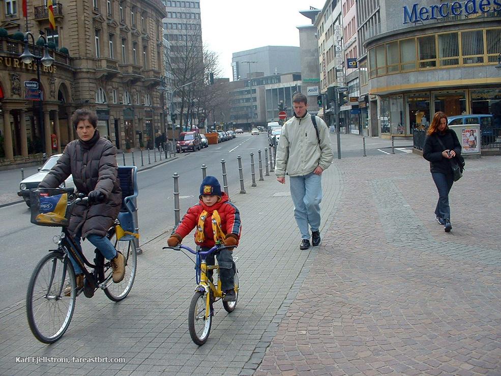 Frankfurt urban transport