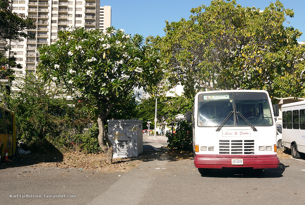 Honolulu urban transport