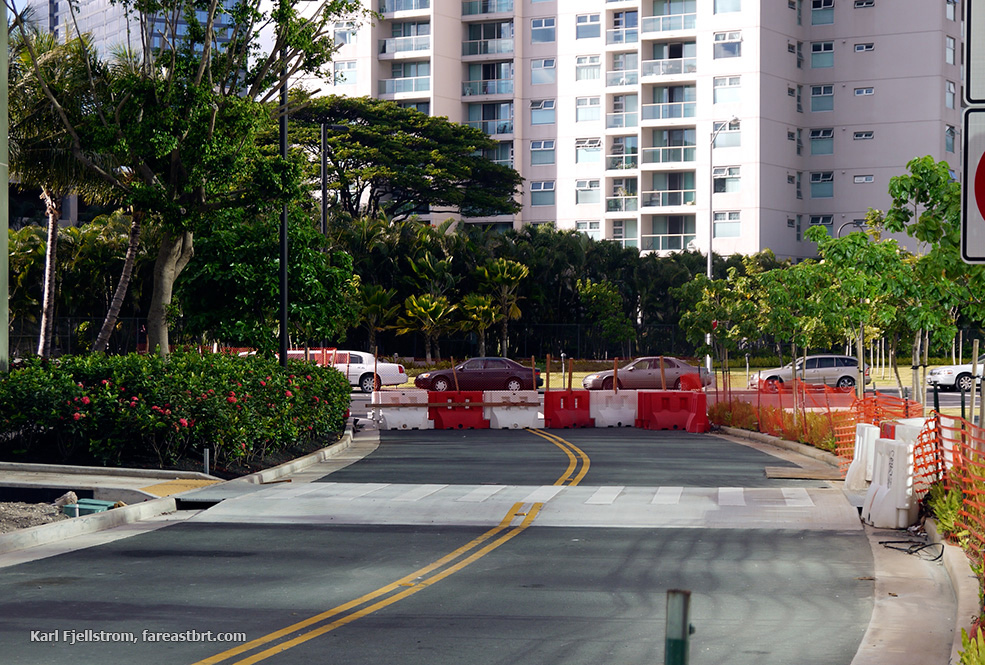 Honolulu urban transport