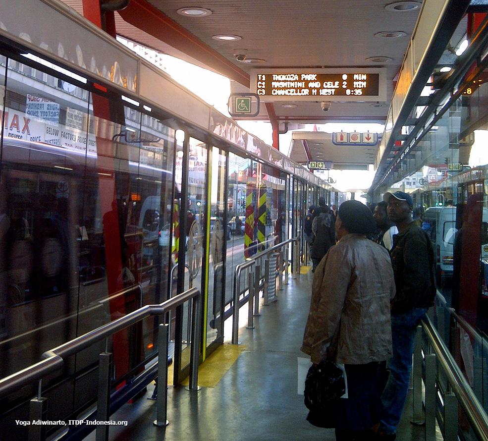 Johannesburg urban transport