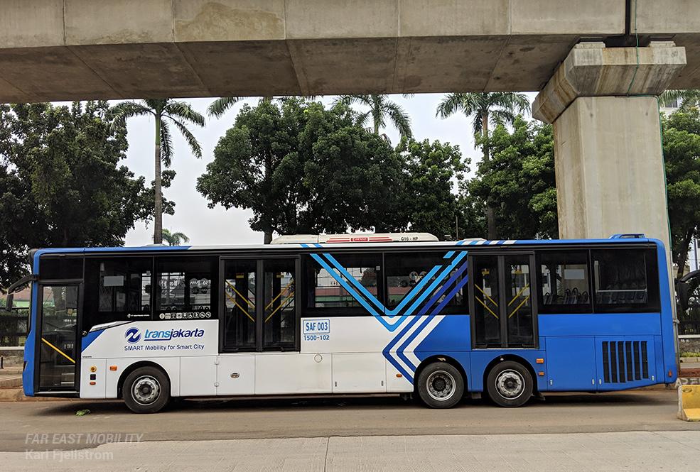 雅加达城市交通