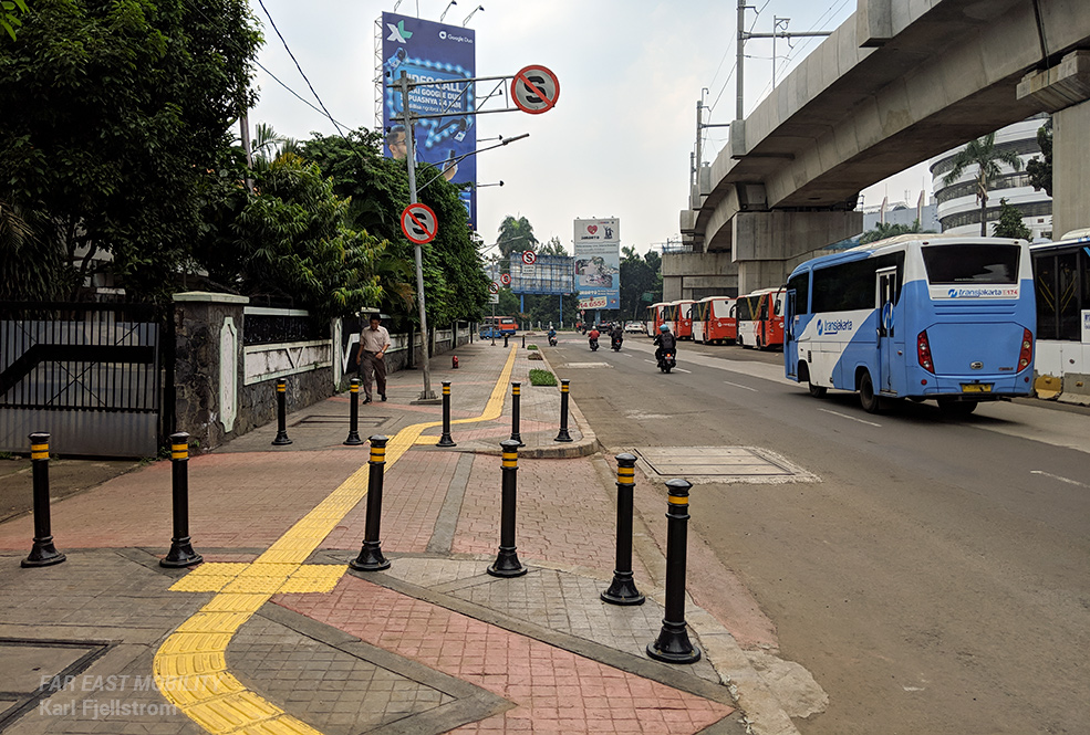 Jakarta urban transport