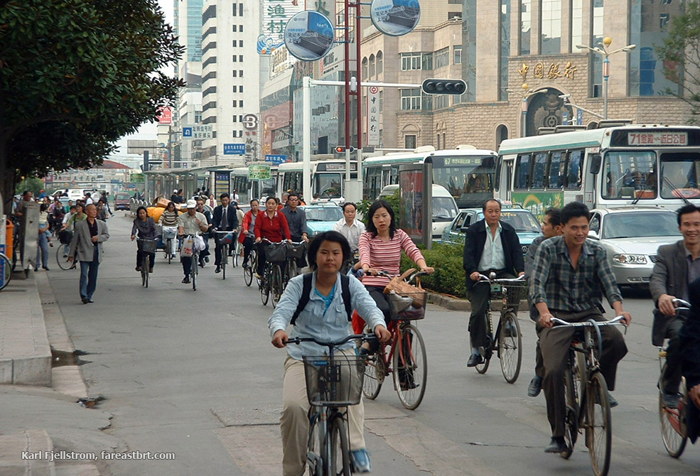 Kunming urban transport