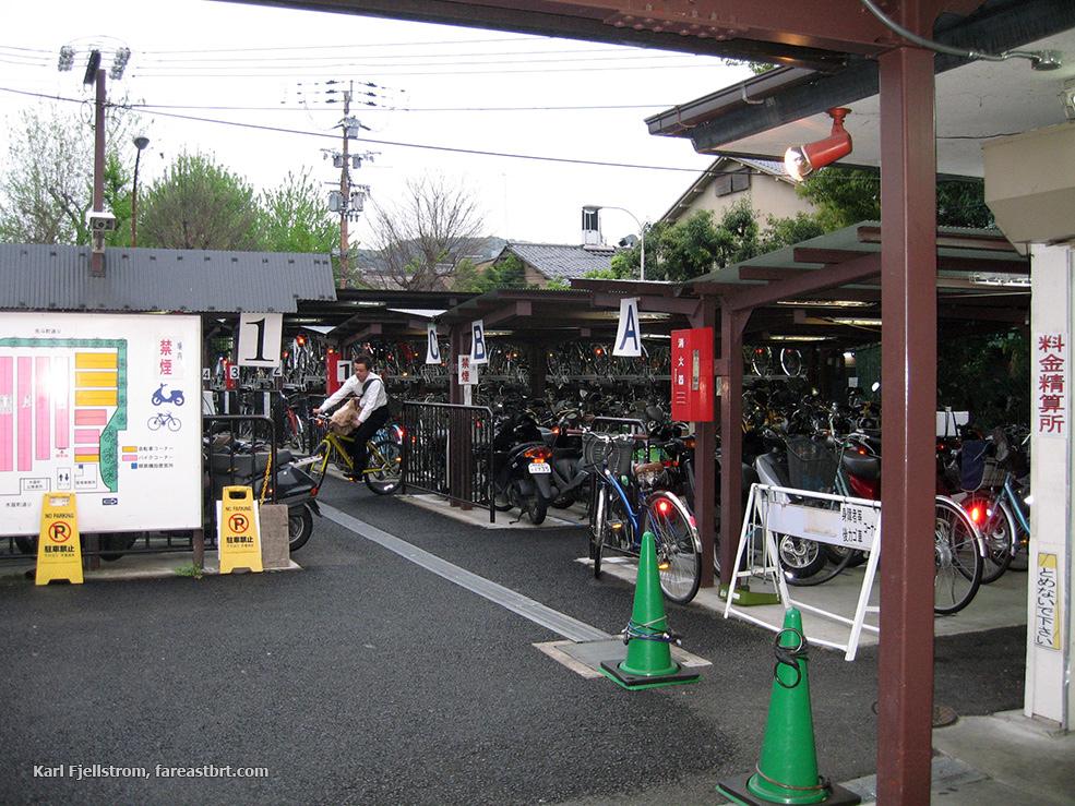 Kyoto urban transport