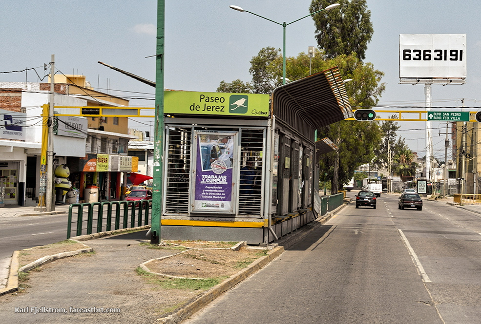 Leon urban transport