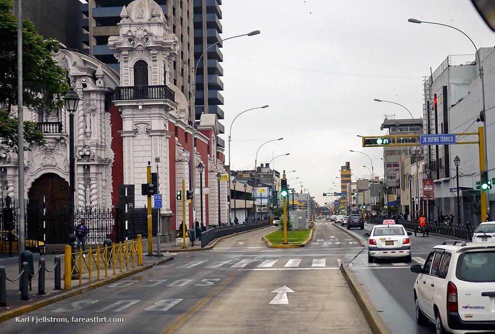 利马城市交通