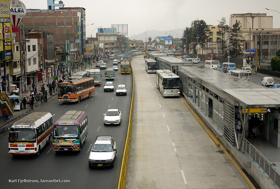 Lima urban transport