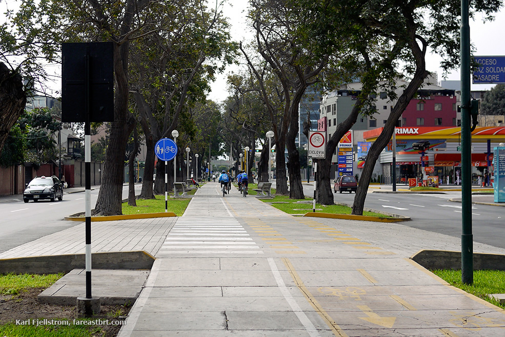 Lima urban transport
