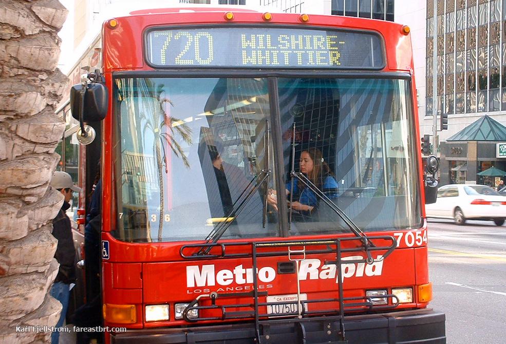 Los Angeles urban transport