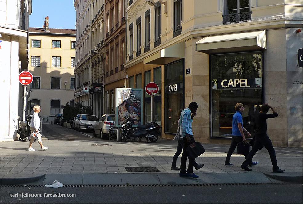 Lyon urban transport