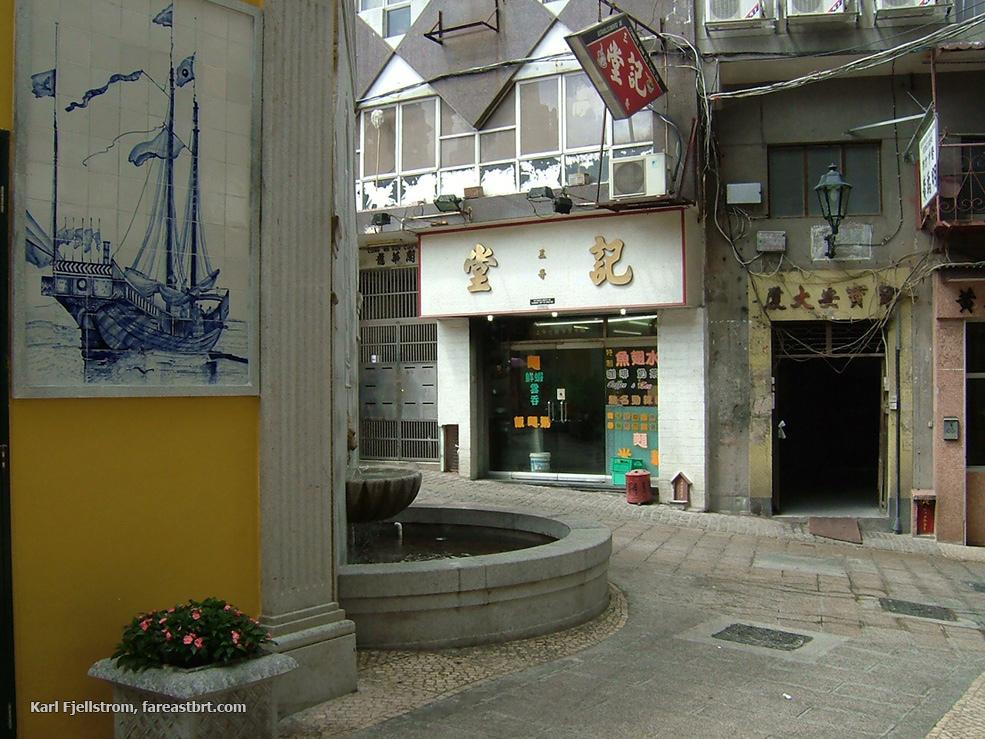Macau urban transport
