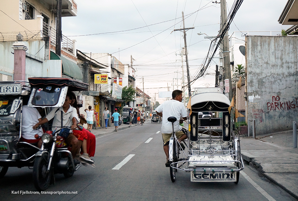 Manila urban transport