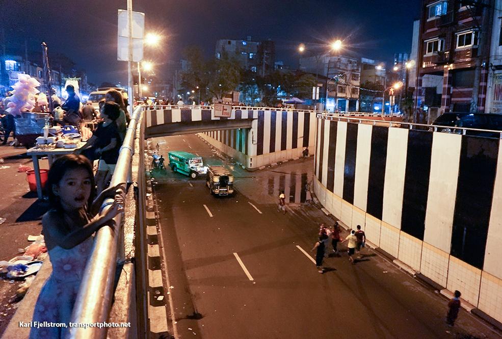 Manila urban transport
