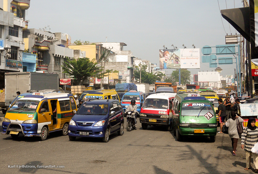 Medan urban transport