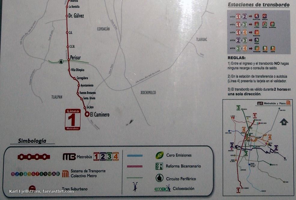 Mexico City urban transport