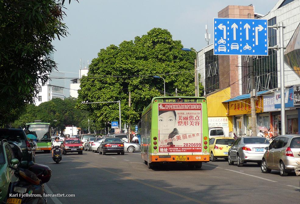 Nanning urban transport