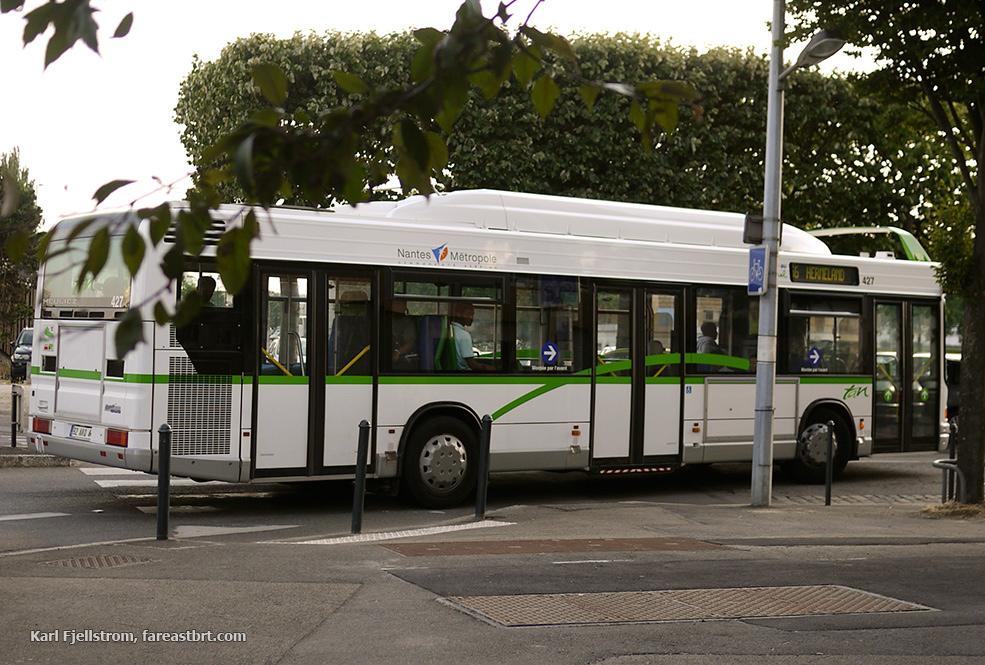 Nantes urban transport