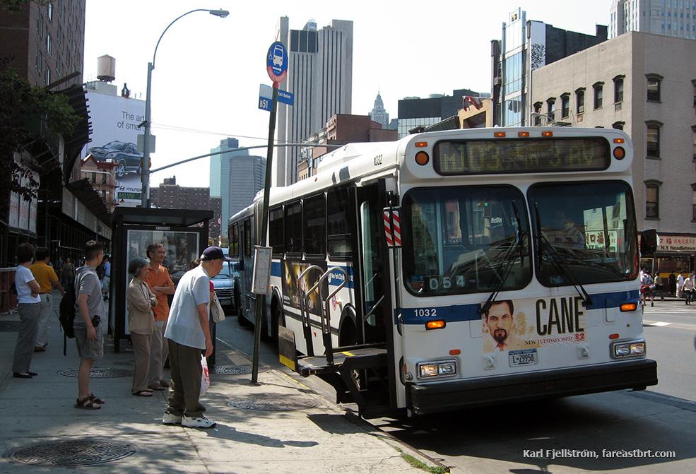 New York urban transport