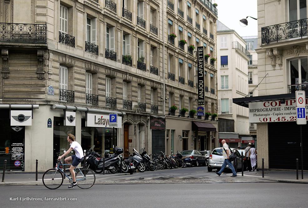 Paris urban transport