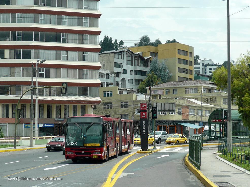 基多城市交通