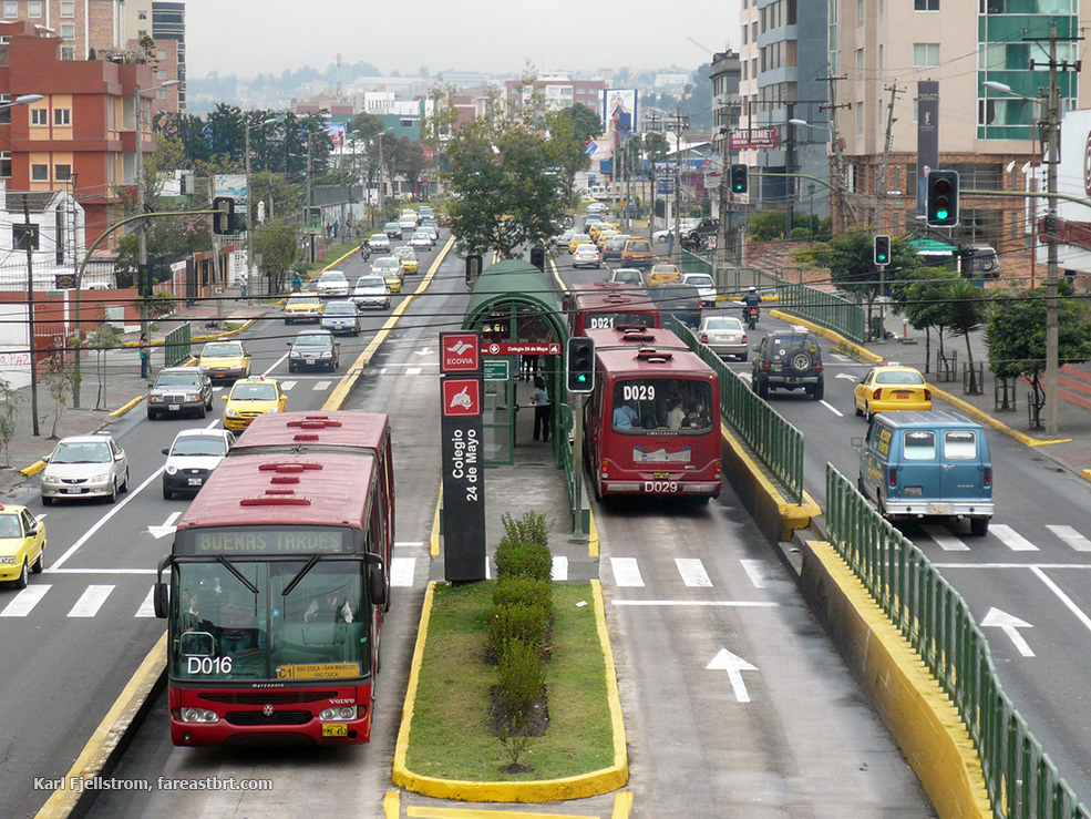 Quito urban transport