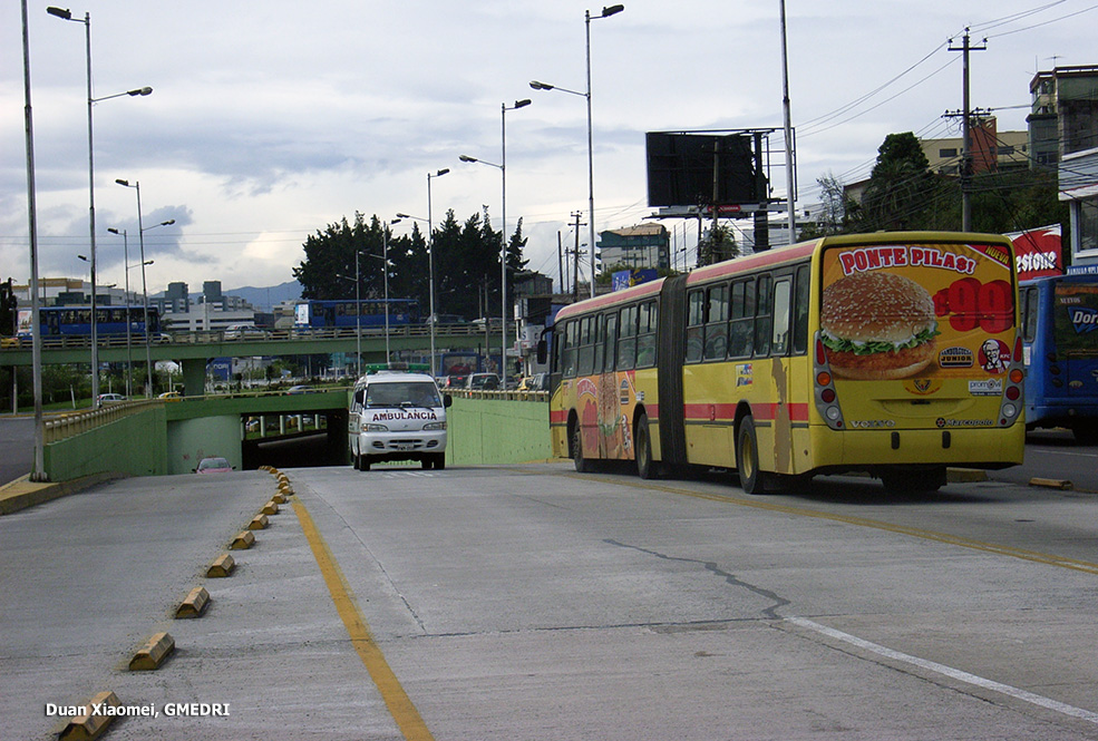 Quito urban transport