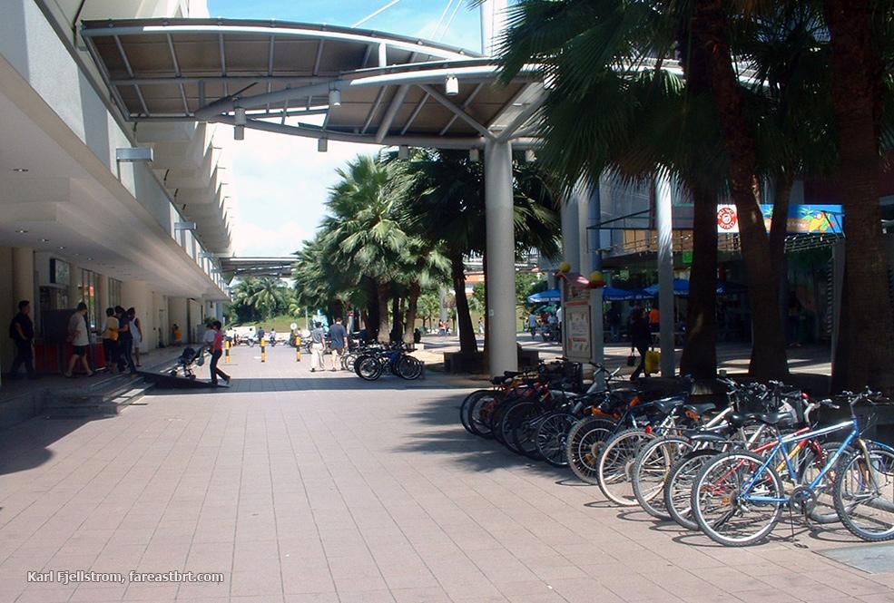 Singapore urban transport