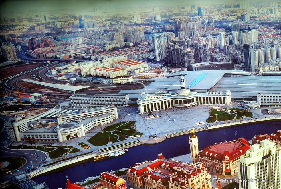Tianjin urban transport