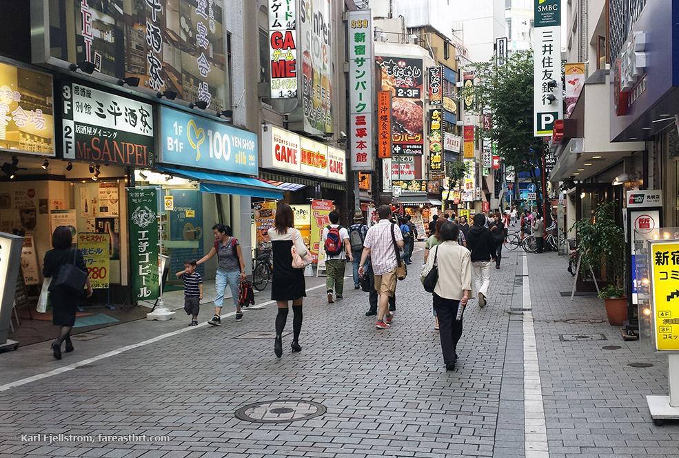 Tokyo urban transport