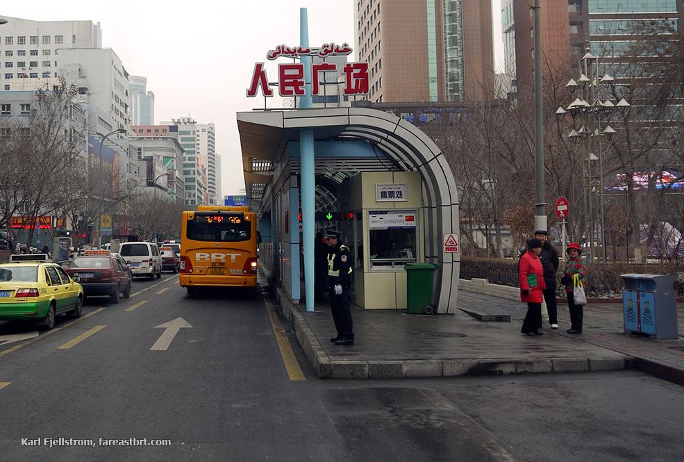 Urumqi urban transport