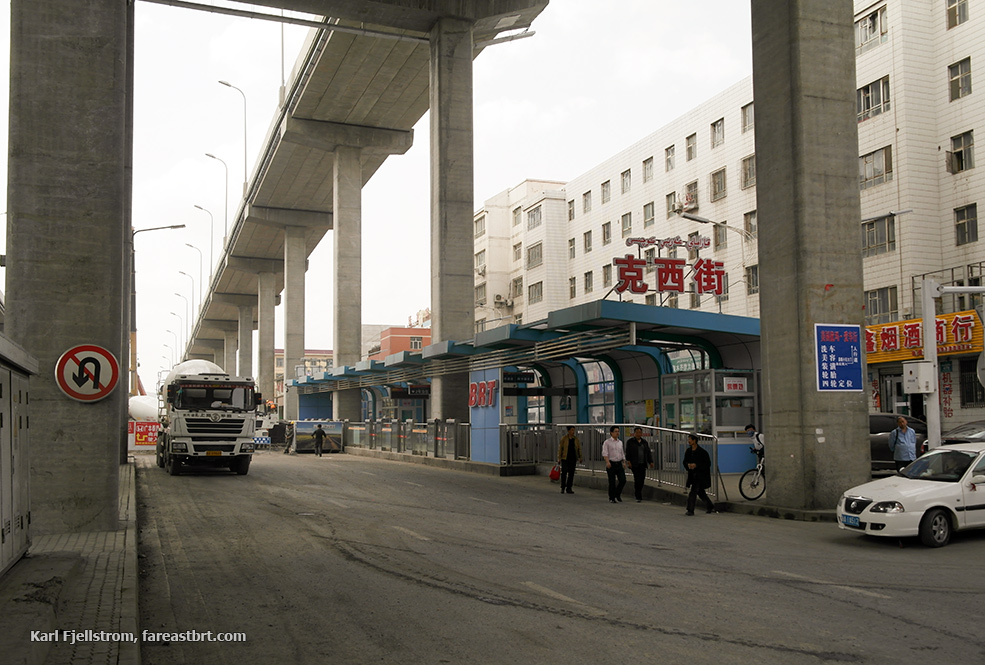 Urumqi urban transport