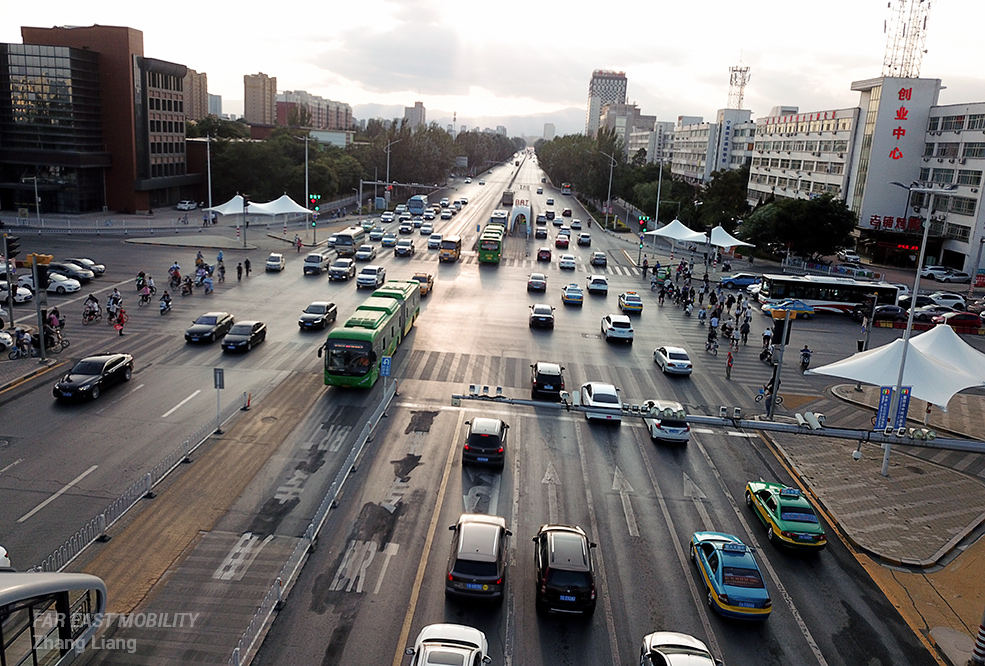 Yinchuan urban transport