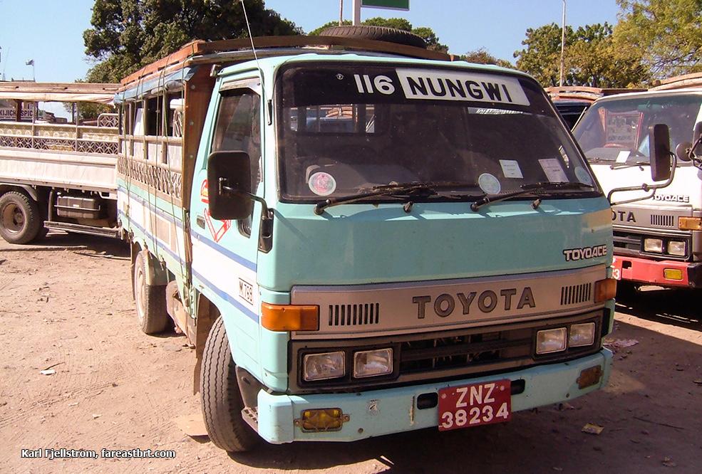 Zanzibar urban transport